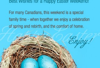 Enjoy your long Easter weekend | CanadianMortgageCo.com